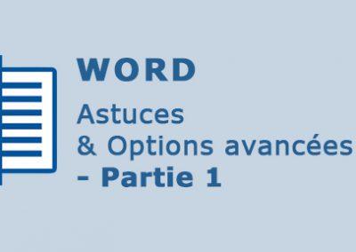Word 2016 – Astuces et options avancées – Partie 1